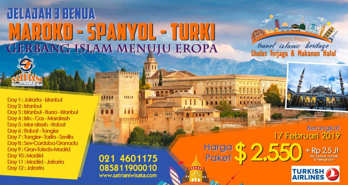 Muslim Tour Spanyol Maroko Turki Satriani Wisata
