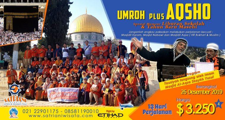 Umroh plus Aqso satriani wisata